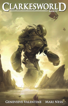 Clarkesworld Magazine 06/2011 cover